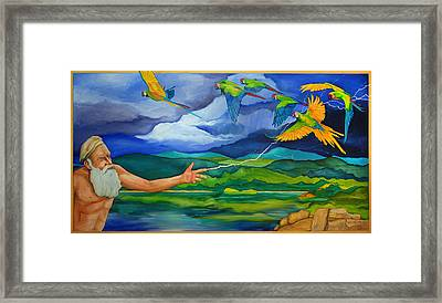 The Fifth Day Framed Print by Robert Lacy