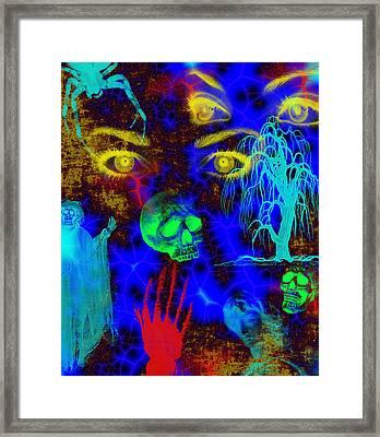 The Fight For Souls Framed Print