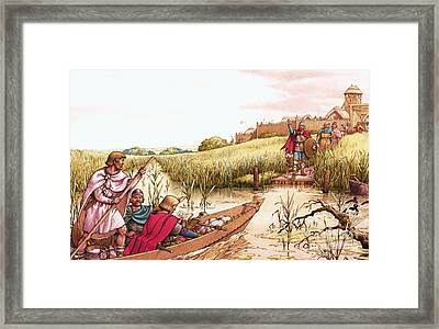 The Fighter From The Fens Framed Print by Pat Nicolle