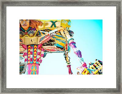 The Fighter Framed Print by Kim Fearheiley