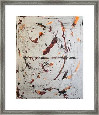 The Figures Framed Print by Salma Yusuf