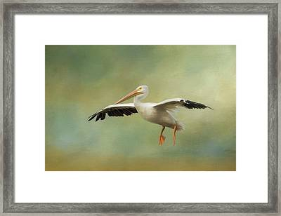 Framed Print featuring the photograph The Final Approach by Kim Hojnacki