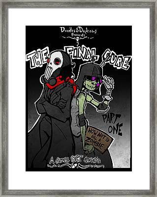 The Final Cure Framed Print by Jamie Lindenmeier