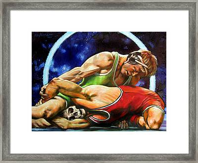 The Final Fight Framed Print