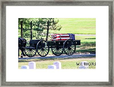 The Final Journey Framed Print