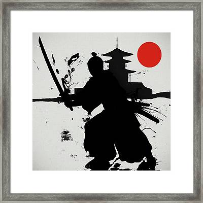 The Final Samurai  Framed Print