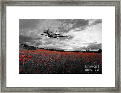 The Final Sortie - Selective Framed Print