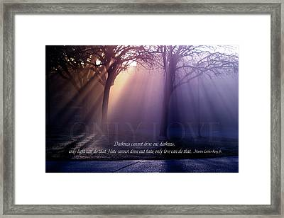 The Final Word Framed Print