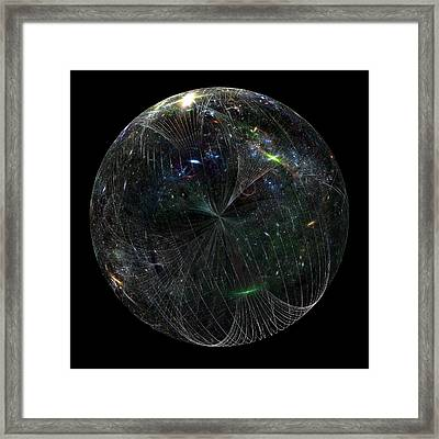 The Finite Universe Framed Print