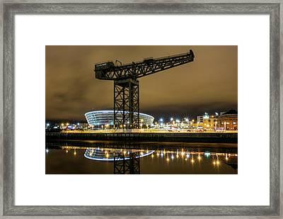The Finnieston Crane Glasgow Framed Print