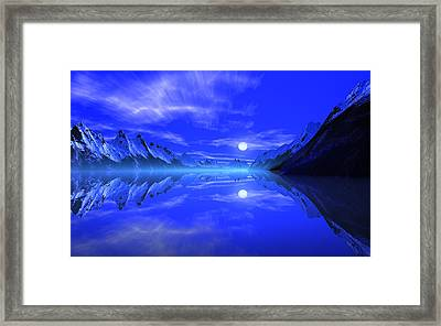 The Fiords Of Thor. Framed Print by David Jackson
