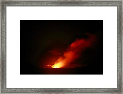 The Fire Inside Framed Print by Laurie Search