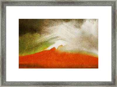 The Fire Mountain - Cotapaxi Framed Print