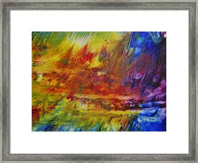 The Fire Of Transformation Framed Print