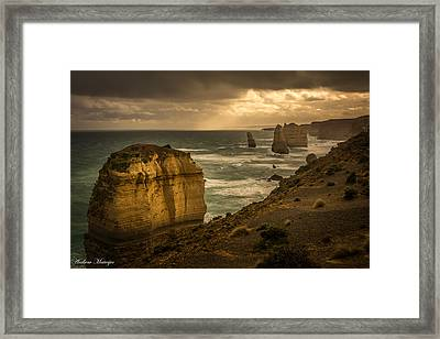 The Fire Sky Framed Print by Andrew Matwijec