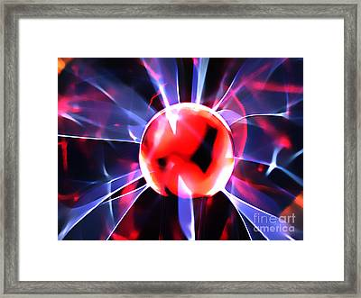 The Fire Within Framed Print by Clayton Bruster