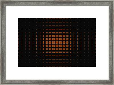 The Fire Within Framed Print by Thomas Smith