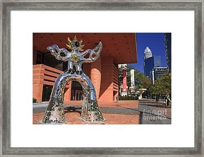 The Firebird At The Bechtler Museum In Charlotte Framed Print