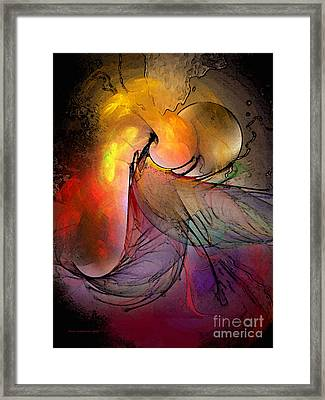 The Firedevil Framed Print by Karin Kuhlmann