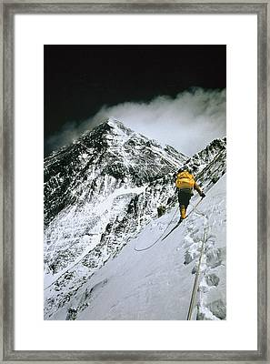 The First American Team Makes Framed Print by Barry Bishop