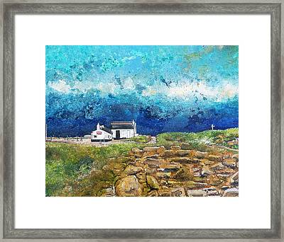 The First And Last Refreshment House Framed Print by Diane Griffiths