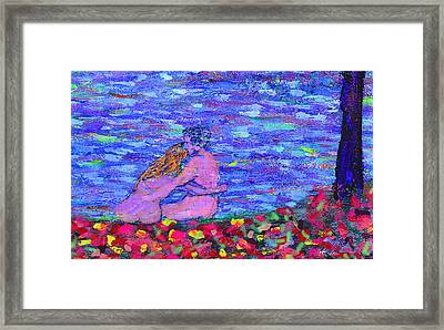 The First Autumn Framed Print