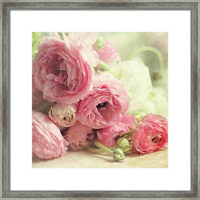 Framed Print featuring the photograph The First Bouquet by Sylvia Cook