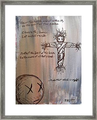The First Child Framed Print by Anthony Trott