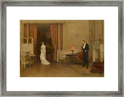 The First Cloud Framed Print by William Quiller Orchardson