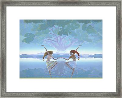 The First Dance Framed Print by Jonathan Day