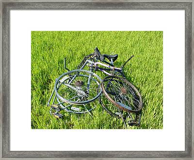 The First Heat Framed Print by Steve Mudge