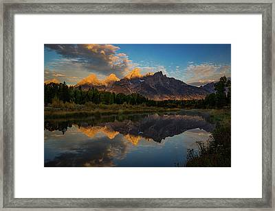 The First Light Framed Print by Edgars Erglis