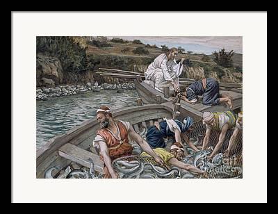 Fishers Of Men Framed Prints