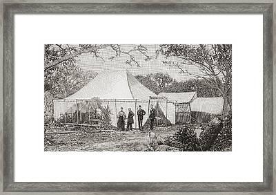The First Presbyterian Church, Miami Framed Print by Vintage Design Pics