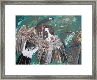 The First Retrieve Framed Print