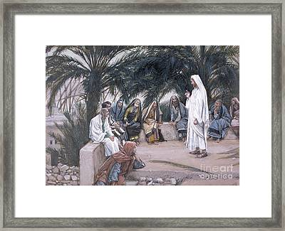 The First Shall Be The Last Framed Print by Tissot