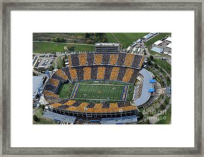 The First Stripe Framed Print