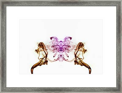 The First Thing... Framed Print