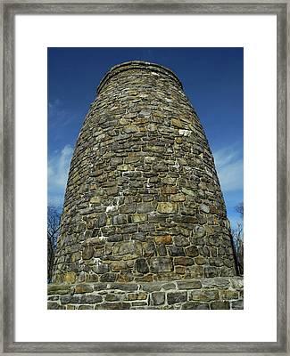 Washington Monument State Park Tower Framed Print by Raymond Salani III