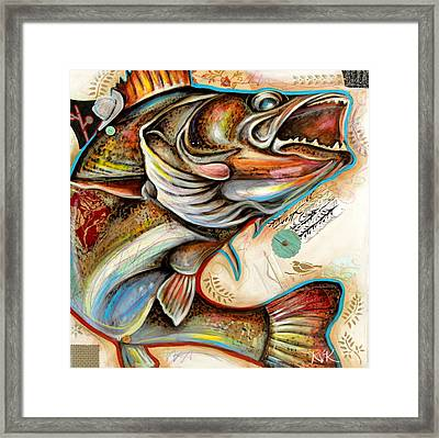 The Fish Framed Print