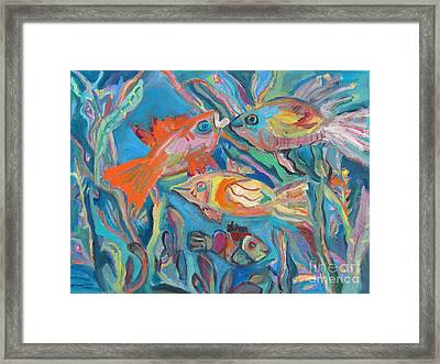 The Fish Framed Print by Marlene Robbins