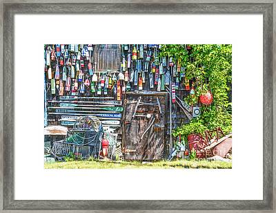 The Fish Shack - Painterly Framed Print