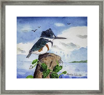 The Fisher Queen  Framed Print