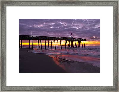 The Fisherman Framed Print by Dan Myers