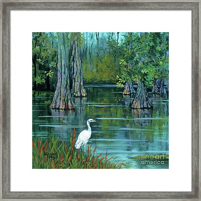 The Fisherman Framed Print by Dianne Parks