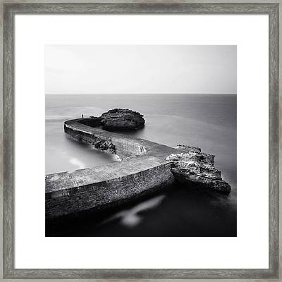 The Fisherman Framed Print by Nina Papiorek