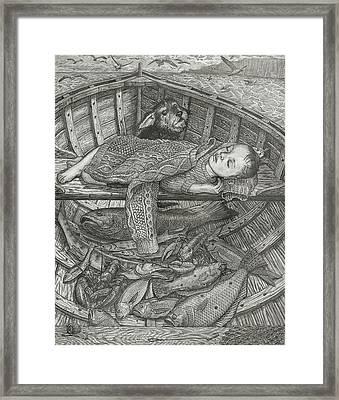 The Fisherman's Child Framed Print by Fremont Thompson