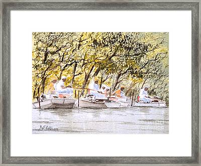 The Fishing Party Framed Print by Bill Holkham