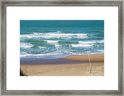 The Fishing Pole Framed Print
