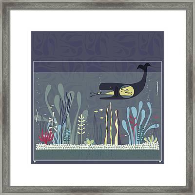 The Fishtank Framed Print